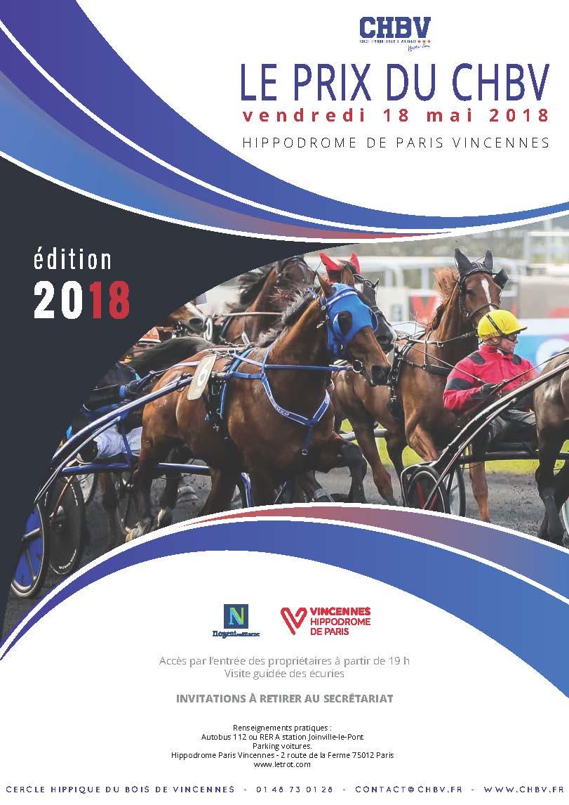 Affiche 2018 prix du chbv